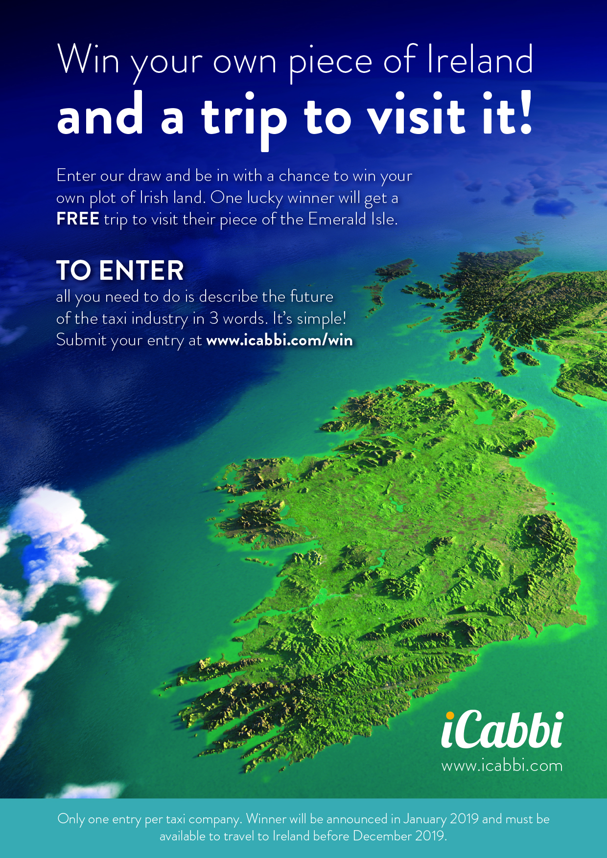 iCabbi-taxi-dispatch-system-Win-a-trip-to-Ireland Ad v1